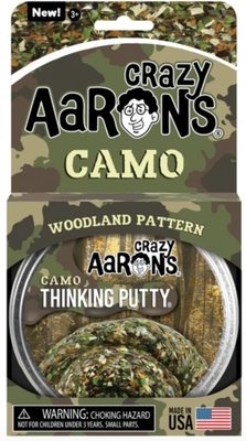 Crazy Aaron's Thinking Putty Woodland Pattern- Camo  4