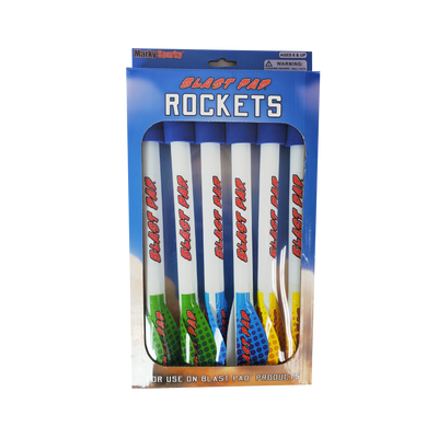 Blast Pad Rockets 6-pack Refill (Blast Pad and Faux Bow)