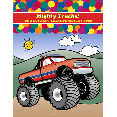 Do-A-Dot Mighty Trucks Coloring Book