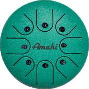 "Steel Tongue Drum - 8"" Green"