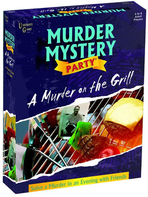 Murder Mystery Party - Murder on the Grill