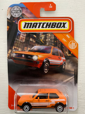 Matchbox VOLKSWAGEN GOLF MARK 1