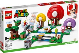 71368 Adventures with Mario Toads Treasure Hunt Expansion
