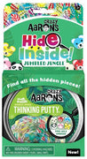 "Crazy Aaron's Hide Inside Thinking Putty- Jumbled Jungle 4"" Tin"
