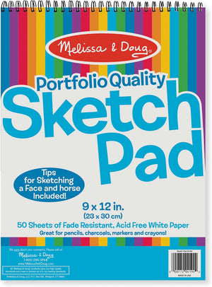 Quality Spiral-Bound Sketch Pad 4194