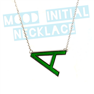 Mood Changing Initial Necklace