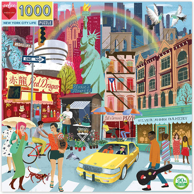 New York City Life 1000 Piece Puzzle