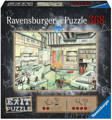 168446 Escape Puzzle - The Laboratory - 368 pc
