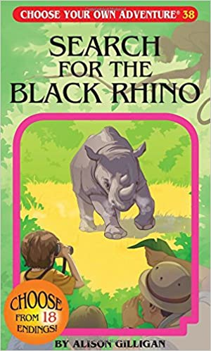 Choose Your Own Adventure - Search for the Black Rhino