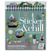 Sticker & Chill - Succulents and Crystals