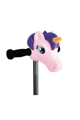 Scootaheadz Light Pink Unicorn Scooter Accessory