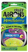 "Crazy Aaron's Thinking Putty- Monstrosity 4"" Tin"