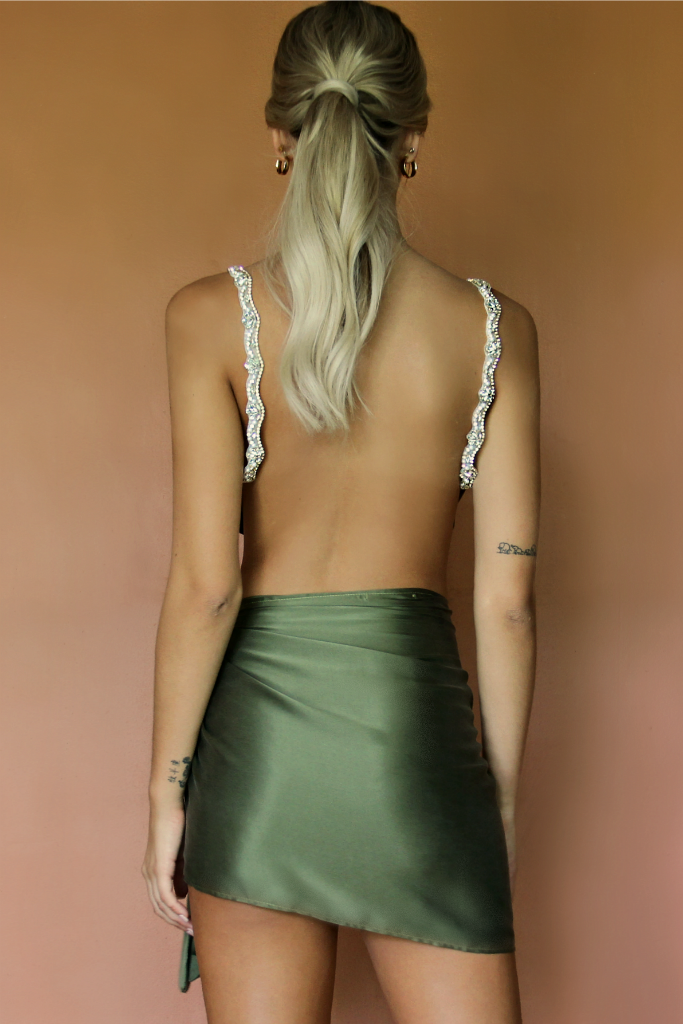 BABE SET - FOREST SILK