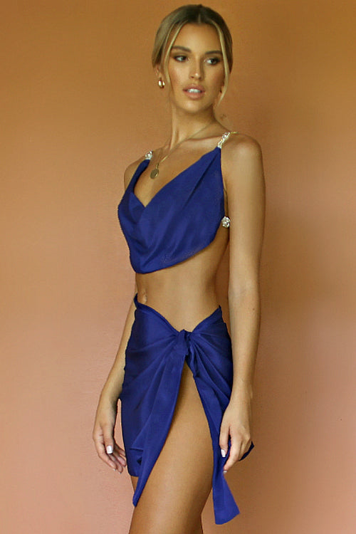 BABE SET - MIDNIGHT AFFAIR SILK