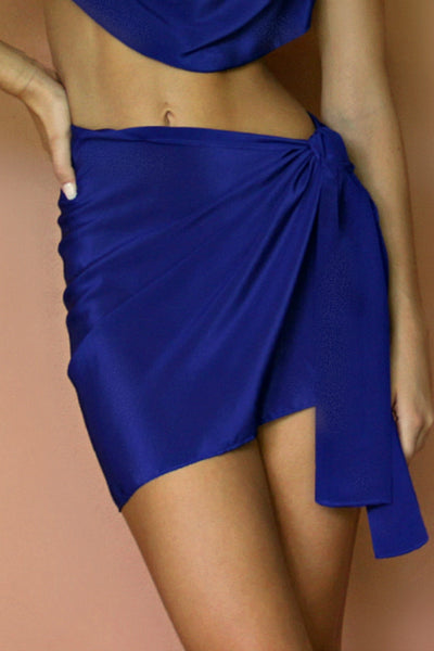 BABE SKIRT - MIDNIGHT AFFAIR SILK