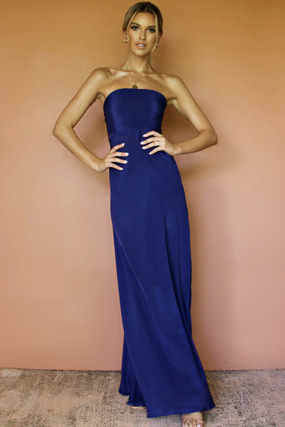 DAISY GOWN - MIDNIGHT AFFAIR SILK