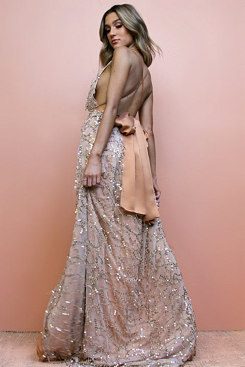EMBELLISHED FOX - MULTIWAY GOWN