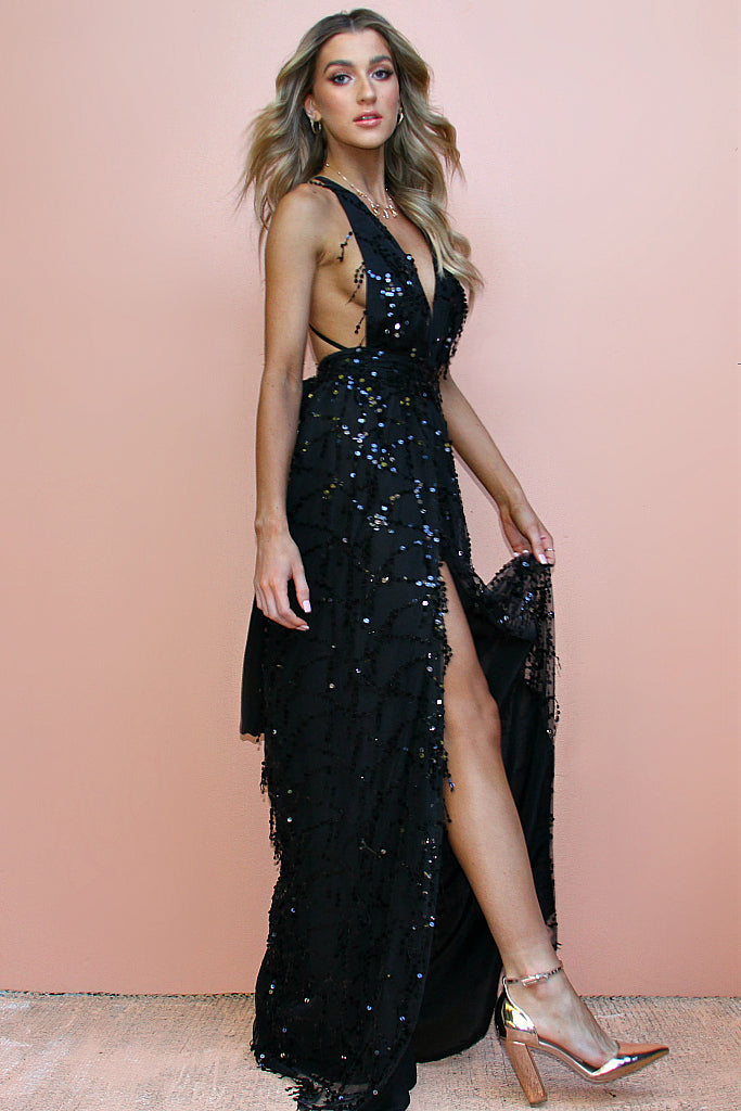 EMBELLISHED NIGHT NYMPH - MULTIWAY GOWN