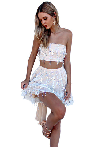 EMBELLISHED NEARLY NAKED - TWO PIECE MINI