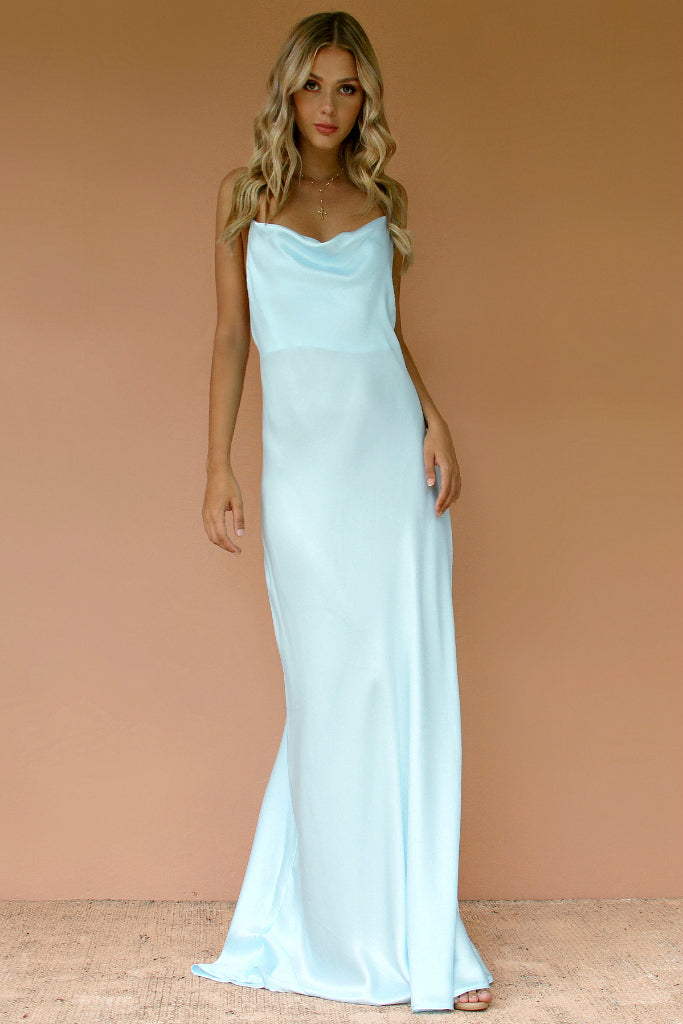 CRYSTAL SILK - HAVANNA SLIP GOWN