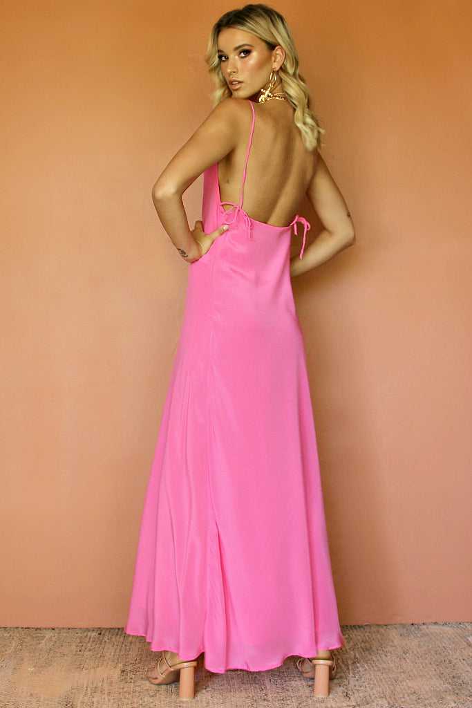 ROSE SILK - HAVANNA SLIP GOWN