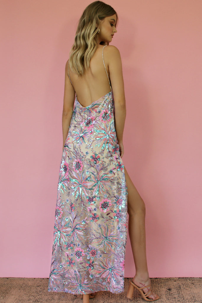 KITTY SLIP GOWN - EMBELLISHED DREAMS & NEARLY NAKED SILK