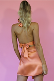 MARGARITA SET - CORAL SILK
