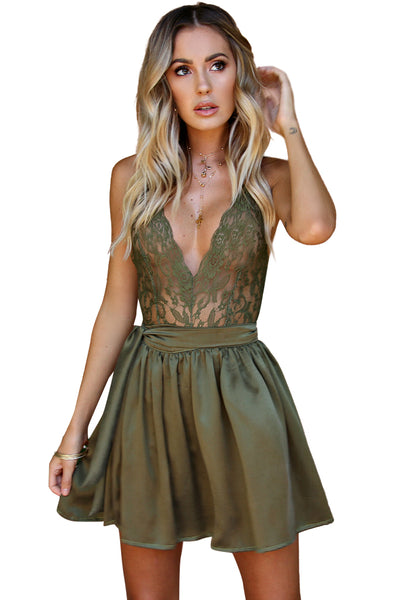PRIMROSE TWO PIECE MINI - FOREST SILK