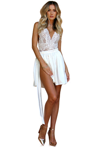 PRIMROSE TWO PIECE MINI - PEARL SILK