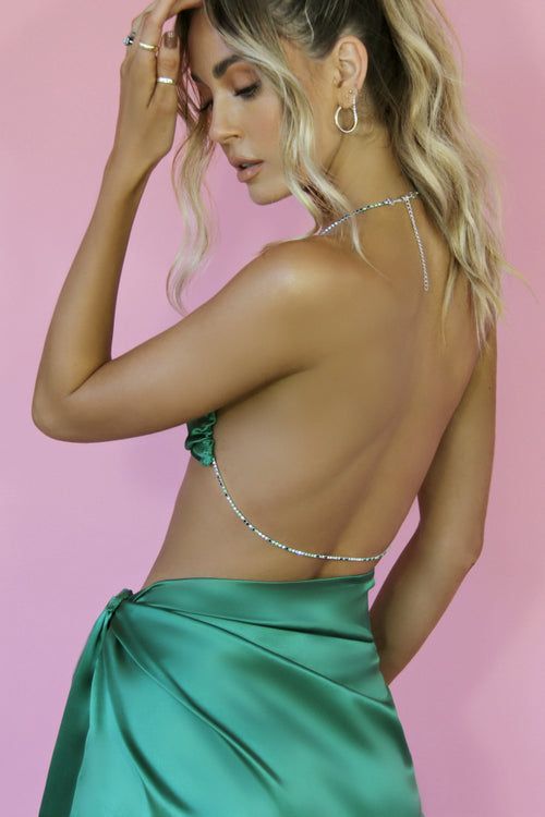 RUBY MINI SET - EMERALD SILK
