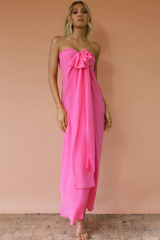 SASHA GOWN - ROSE SILK