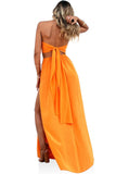 SILK TANGERINE DREAM - WRAP TOP