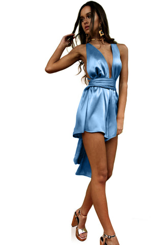 SUEDED SILK COOL - MULTIWAY PLAYSUIT