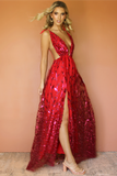 VERA GOWN - ROUGE SILK & EMBELLISHED FLORA