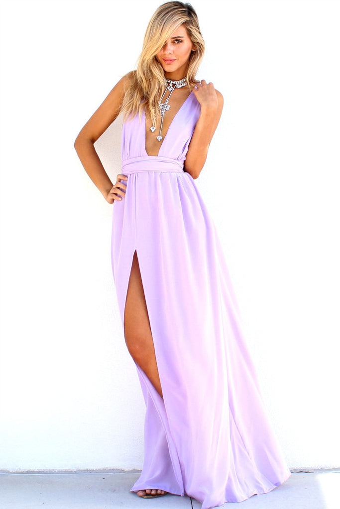 LAVENDER ALLURE - MULTIWAY GOWN
