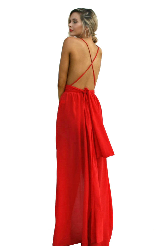 SCARLET SCANDAL - MULTIWAY GOWN