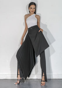 Female model wears Boundless Skirt by Klei Studio