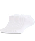 NO SHOW SOCKS WHITE THIN