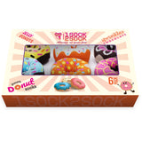 DONUT SOCKS 6 PACK COTTON