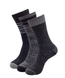 COMFORT BOOT SOCKS 3 PACK BLACK