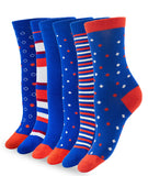 BAMBOO CREW ROYAL BLUE SOCKS