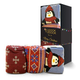 CHRISTMAS SOCKS JUST CHILLIN GIFT BOX