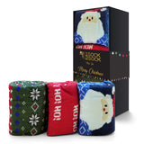 CHRISTMAS SOCKS SANTA GIFT BOX