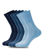 NON-BINDING DIABETIC BLUE SOCKS