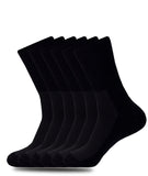 NON-BINDING DIABETIC BLACK SOCKS