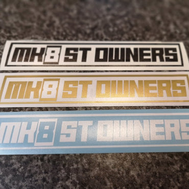 MK8STOC Club Stickers