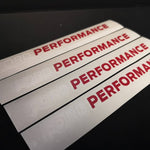 Ford Performance Mudflap Stickers