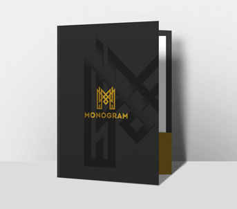 Oversized Glued Presentation Folders