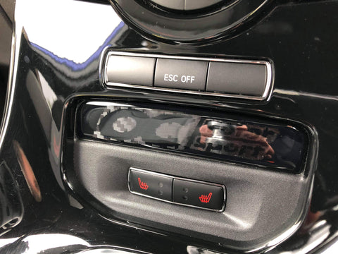 Fiesta Mk7.5 cubby hole filler gel badge