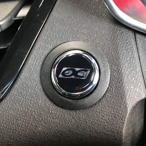 20mm Ignition Button Gel Badge